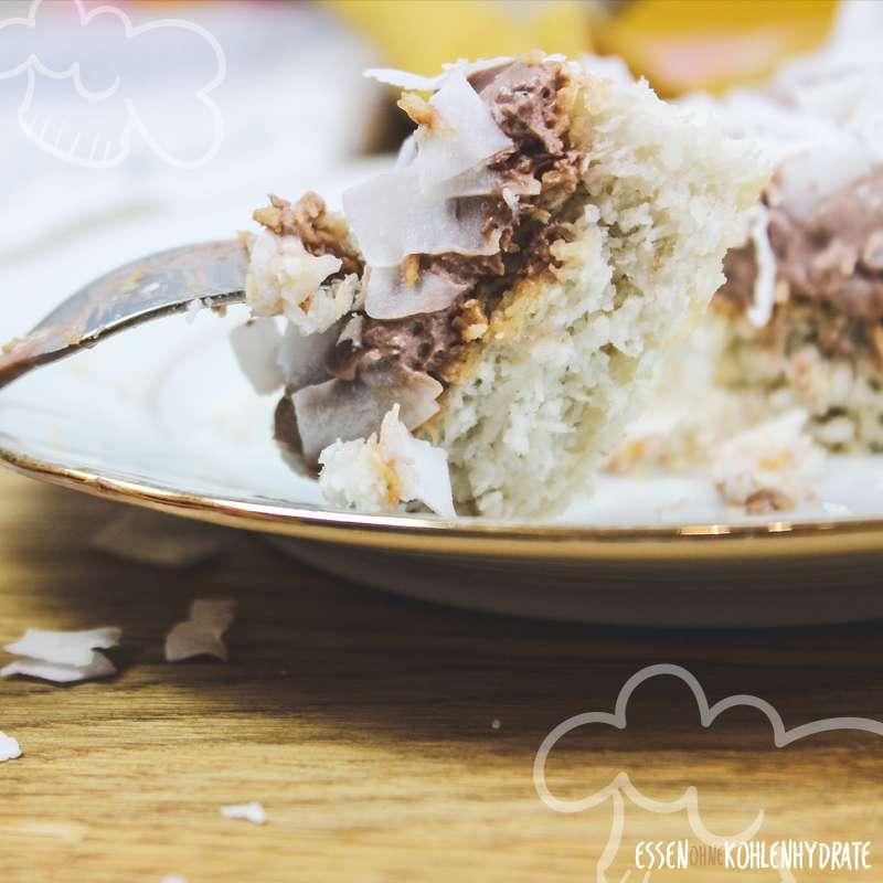 Kokos-Schoko-Kuchen