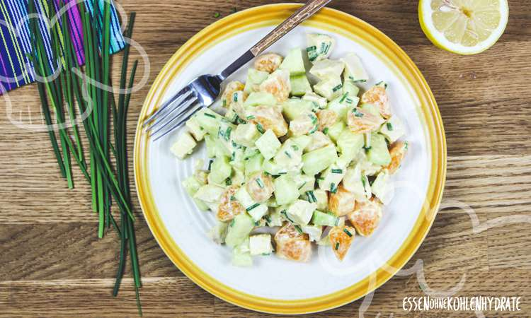 Schneller Hähnchensalat