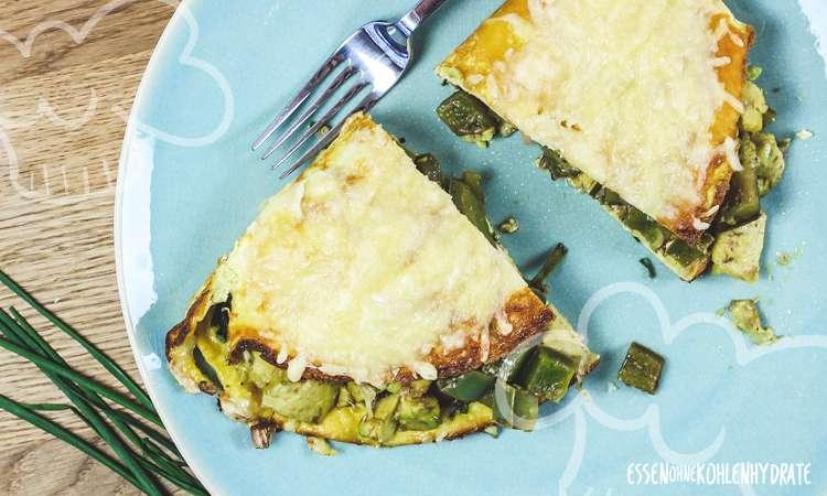 zum Rezept Avocado-Käse-Omelette