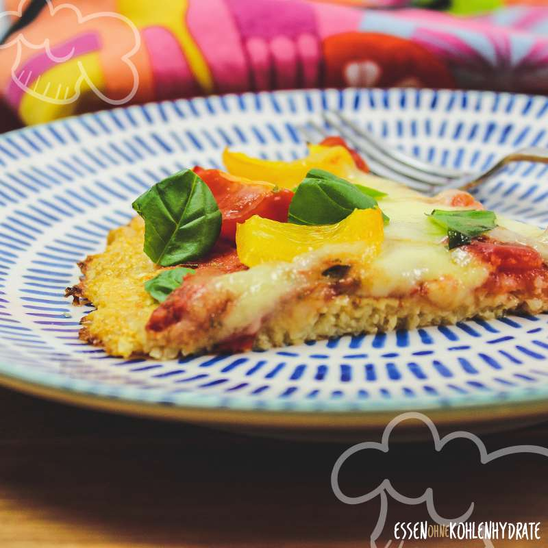 Low Carb Sellerie-Pizza