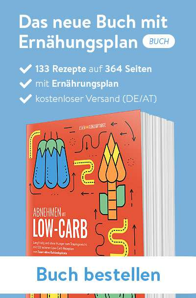Der Ernährunsgplan als Buch von Essen ohne Kohlenhydrate