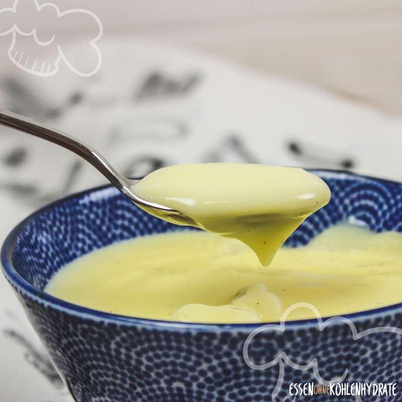 Low Carb Vanillepudding