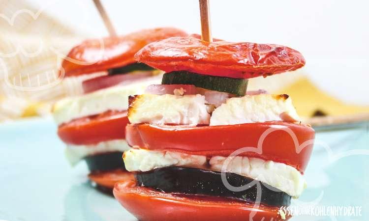 zum Rezept Tomaten Türmchen
