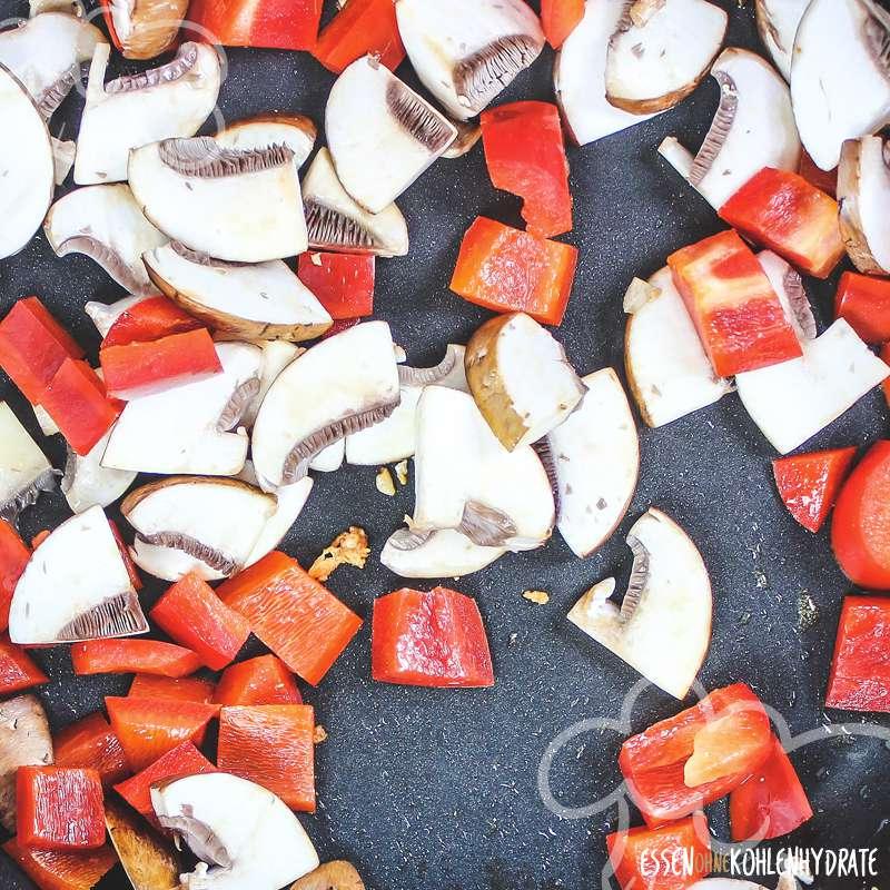 Hähnchen-Pilz-Gulasch