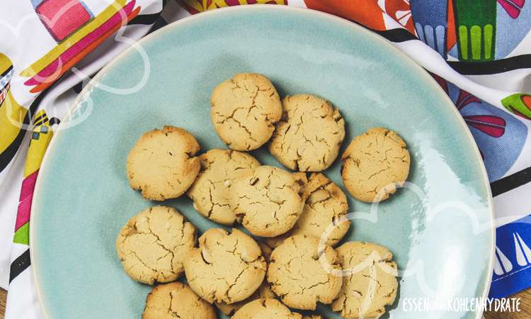 Low Carb Erdnuss-Cookies