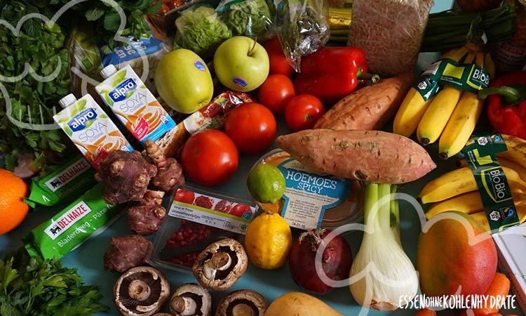 Welche Lebensmittel sind in einer Low Carb Diät verboten?