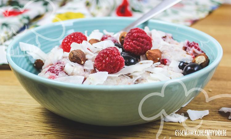 zum Rezept Low Carb Porridge