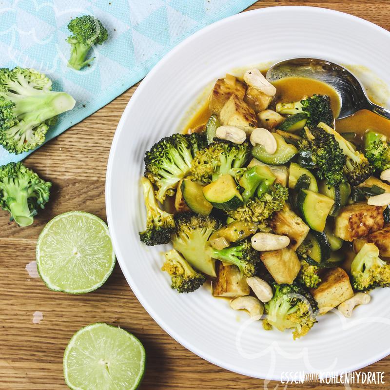 Gemüsecurry mit Tofu