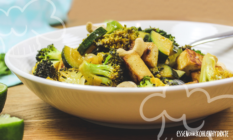 zum Rezept Gemüsecurry mit Tofu
