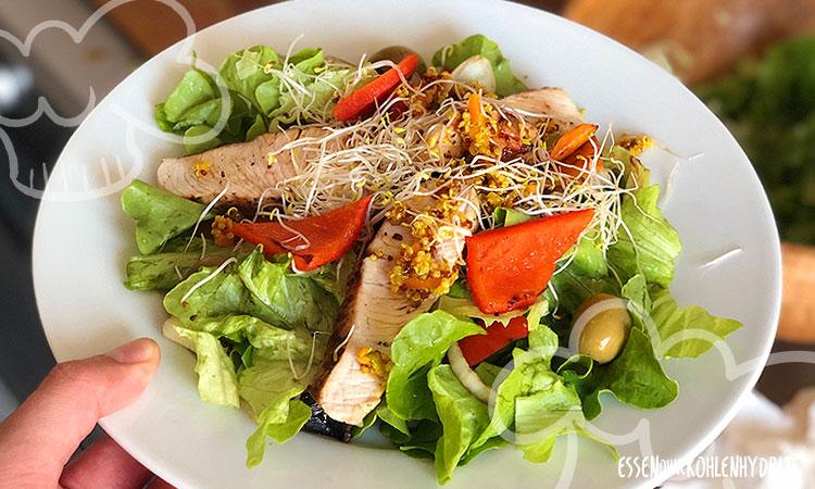 zum Rezept Sommersalat mit Putenstreifen