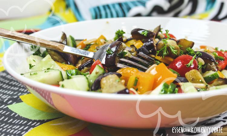 zum Rezept Auberginen-Salat