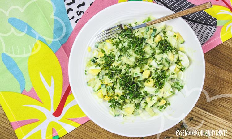 zum Rezept Schneller Eiersalat