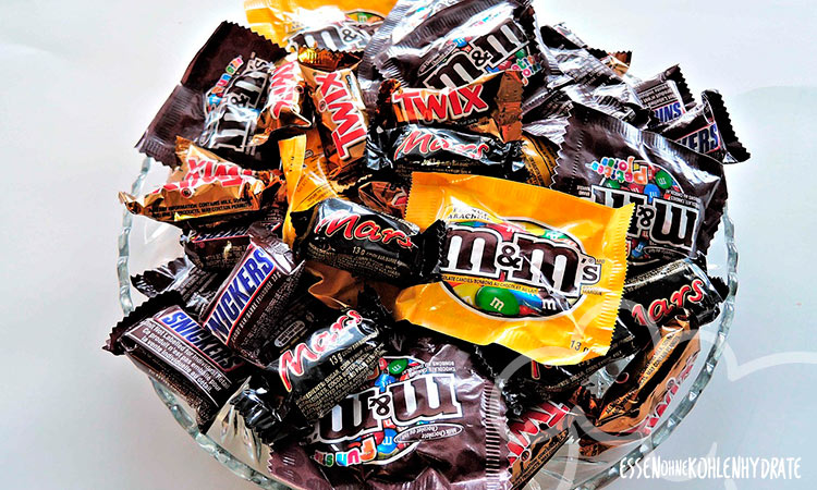 Heißhunger auf Süßes und Schokolade