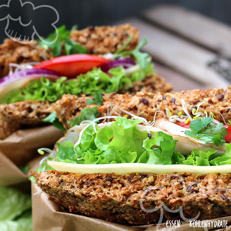 Low-Carb Toast / Low-Carb Sandwich