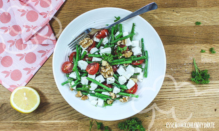 zum Rezept Bohnen-Feta-Salat