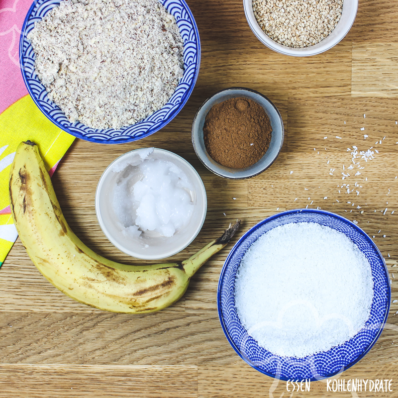 Low Carb Bananenkekse