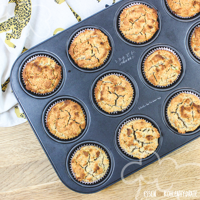 Low Carb Avocado Muffins