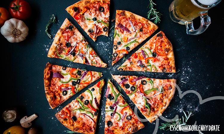 Die 5 besten Low-Carb Pizza-Rezepte