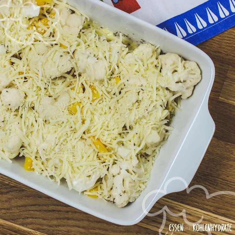Blumenkohl-Käse-Auflauf