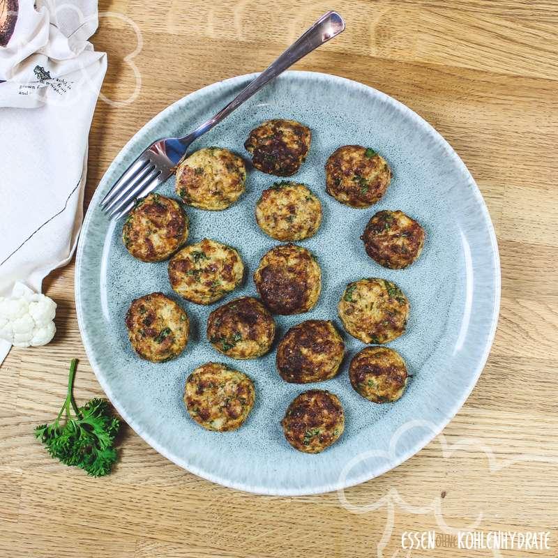 Blumenkohl-Käse-Nuggets