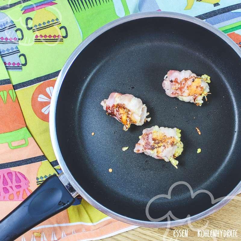 Speck-Frühstücksrollen
