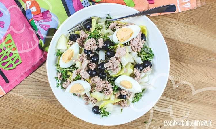 zum Rezept Chicorée-Thunfisch-Salat