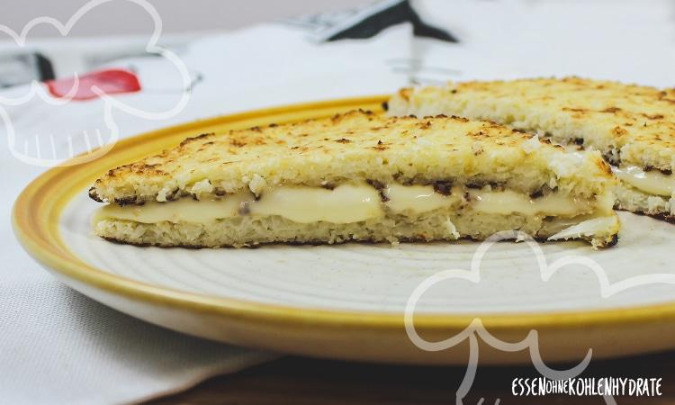 Blumenkohl-Käse-Sandwich