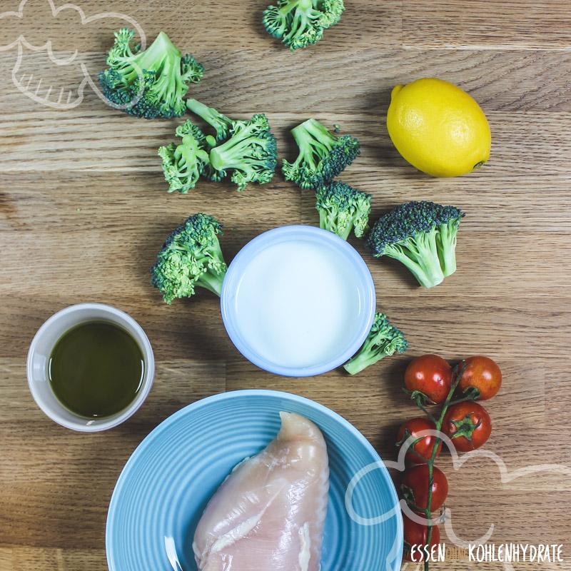Brokkoli-Hähnchen-Salat