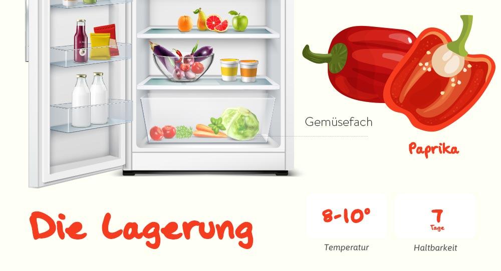 Paprika - Tipps zum Einkauf und der richtigen Lagerung