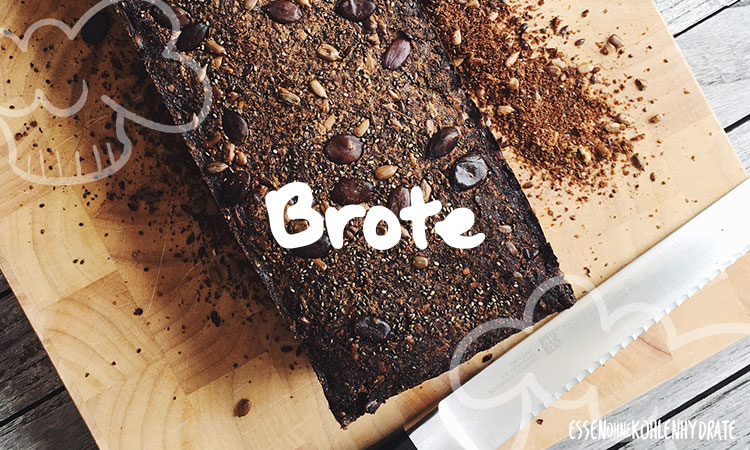 Rezepte für Low-Carb Brote