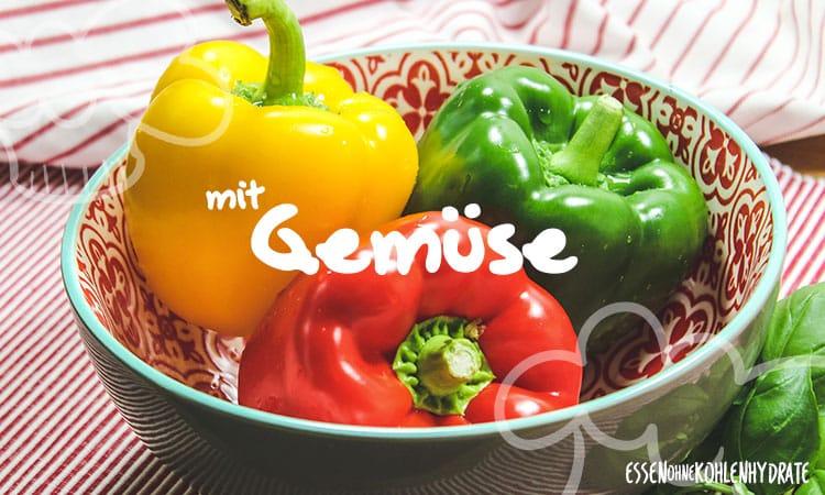 Low-Carb Rezepte mit Gemüse