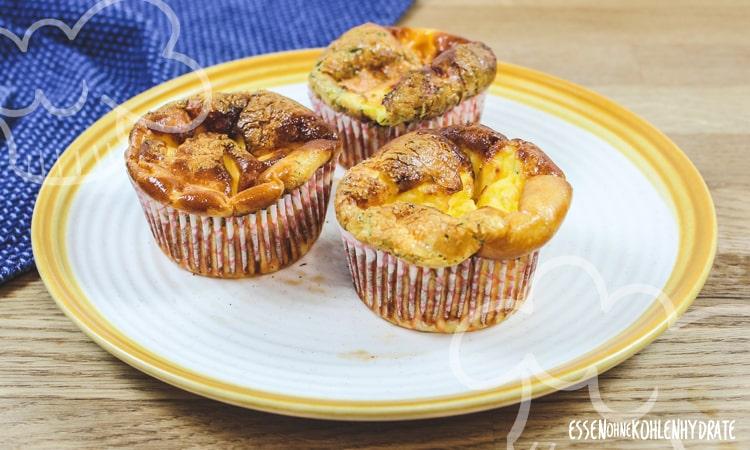 Lachs-Frischkäse-Muffins