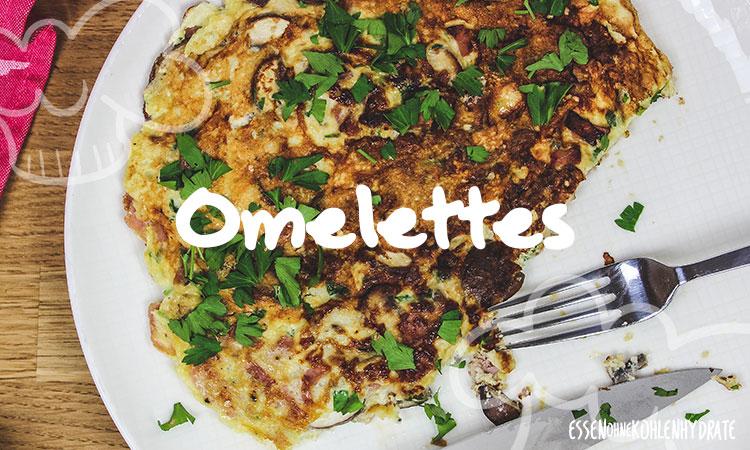 Rezepte für Low-Carb Omelettes