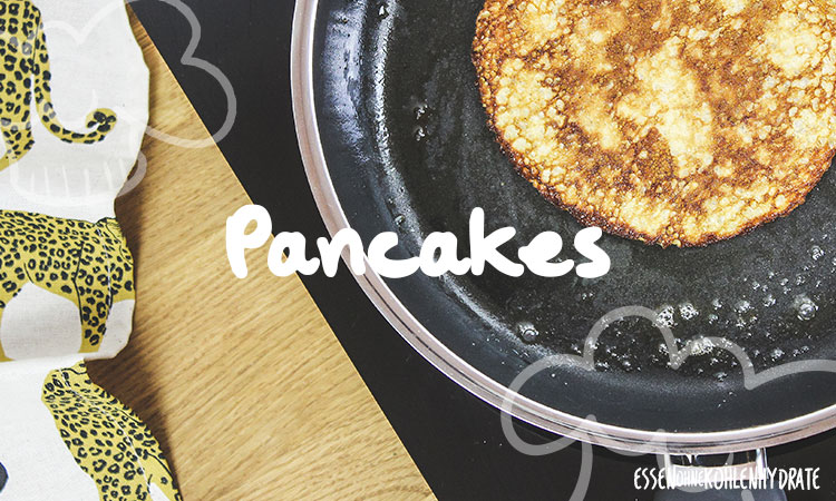 Rezepte für Low-Carb Pancakes