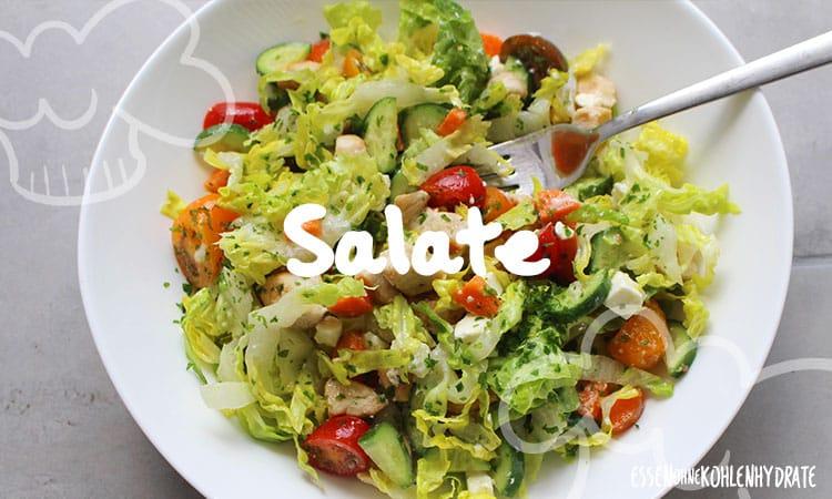 Salate zum Mittagessen