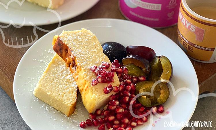 Low-Carb Protein-Cheesecake (optimiertes Rezept)